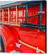 Ole Time Fire Truck Series Canvas Print by Kelly Kitchens