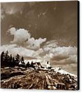 Pemaquid Point Lighthouse Canvas Print by Skip Willits