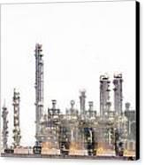 Stream Power Plant  Canvas Print by Anek Suwannaphoom