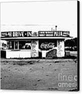 41 Drive In-manchester Tennessee Canvas Print by   Joe Beasley