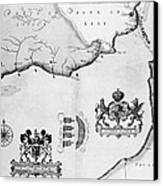 Spanish Armada, 1588 Canvas Print by Granger