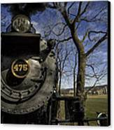 #475 Steam Engine On The Strasburg Rr 04 Canvas Print