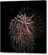 4th Of July Fireworks Canvas Print
