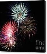 4th Of July Canvas Print by Renee Chandler