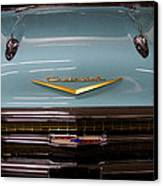 1957 Chevy Bel Air Canvas Print by David Patterson