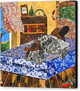 5 Am Canvas Print