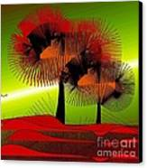 Autumn Colours Canvas Print by Iris Gelbart