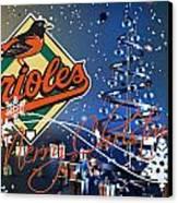 Baltimore Orioles Canvas Print by Joe Hamilton