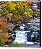 Berea Falls Canvas Print by Frozen in Time Fine Art Photography