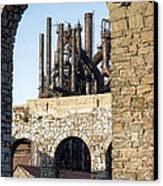 Bethlehem Steel Canvas Print by Michael Dorn