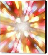 Bright Background  Canvas Print by Les Cunliffe