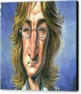 John Lennon Canvas Print by Art