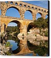 Pont Du Gard Canvas Print by Brian Jannsen
