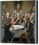 5. The Last Supper / From The Passion Of Christ - A Gay Vision Canvas Print by Douglas Blanchard