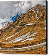 Transfagarasan Highway Canvas Print by Gabriela Insuratelu
