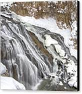 Yellowstone Falls Canvas Print by David Yack