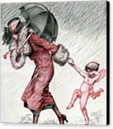 La Vie Parisienne 1924 1920s France Canvas Print