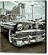 56 Chevy Canvas Print by Merrick Imagery