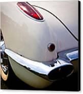 1959 Chevy Corvette Canvas Print by David Patterson