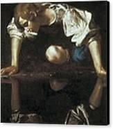 Caravaggio, Michelangelo Merisi Da Canvas Print