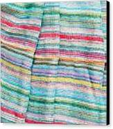 Colorful Cloth Canvas Print by Tom Gowanlock