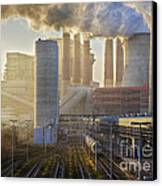 Neurath Power Station Germany Canvas Print