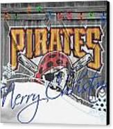 Pittsburgh Pirates Canvas Print by Joe Hamilton