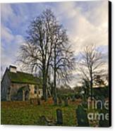 St Margaret Of Antiochs Church Linstead Canvas Print by Darren Burroughs