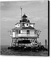 Thomas Point Shoal Lighthouse Canvas Print