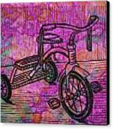 Tricycle Canvas Print by William Cauthern