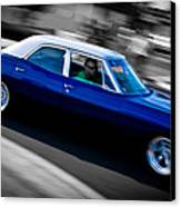 67 Chev Impala Canvas Print by Phil 'motography' Clark