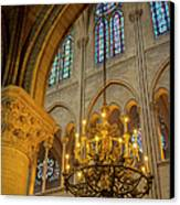 Cathedral Notre Dame Canvas Print by Brian Jannsen