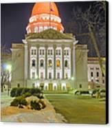 Madison Capitol Canvas Print by Steven Ralser