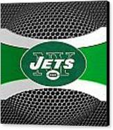 New York Jets Canvas Print by Joe Hamilton