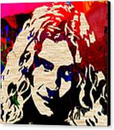 Robert Plant Canvas Print by Marvin Blaine