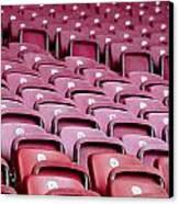Stadium Seats Canvas Print
