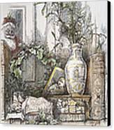 Thomas Nast: Christmas Canvas Print by Granger