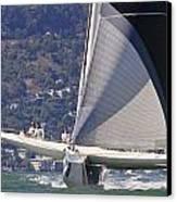 San Francisco Sailing Canvas Print by Steven Lapkin