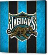 Jacksonville Jaguars Canvas Print by Joe Hamilton