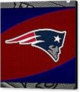 New England Patriots Canvas Print by Joe Hamilton