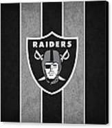 Oakland Raiders Canvas Print