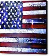 9-11 Flag Canvas Print by Richard Sean Manning