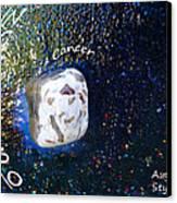 Barack Obama Star Canvas Print by Augusta Stylianou