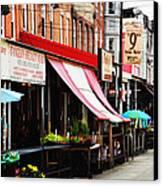 9th Street Italian Market Philadelphia Canvas Print by Bill Cannon