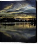 A Beautiful Sunset Over Phoenix Arizona. Canvas Print