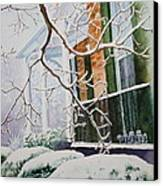 A Blanket Of Snow Canvas Print by Patsy Sharpe