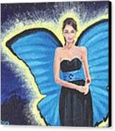 A Blue Fairy Canvas Print by Glenn Harden