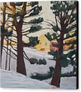 A Certain Slant Of Light Canvas Print by Grace Keown