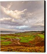 A Chambers Bay Morning Canvas Print by Ken Stanback