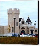 A Cheese Castle Canvas Print by Kay Novy